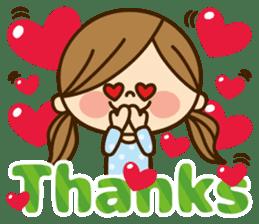 Kawashufu [Love]EN sticker #11536137
