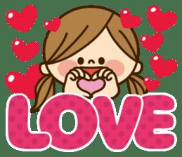 Kawashufu [Love]EN sticker #11536144