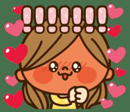 Kawashufu [Love]EN sticker #11536145