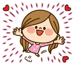 Kawashufu [Love]EN sticker #11536150