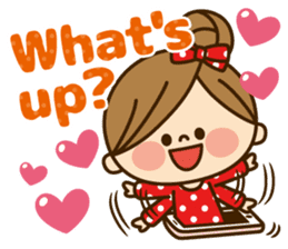 Kawashufu [Love]EN sticker #11536157