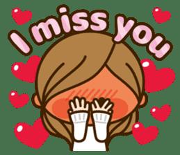 Kawashufu [Love]EN sticker #11536159