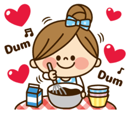 Kawashufu [Love]EN sticker #11536168