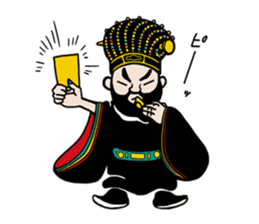 king shouen sticker #11536593