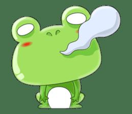 frog Croak sticker #11536937