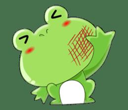frog Croak sticker #11536938