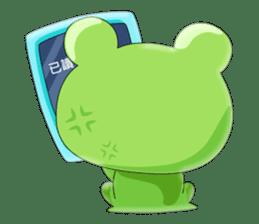 frog Croak sticker #11536939