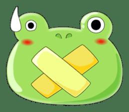 frog Croak sticker #11536941