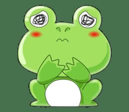 frog Croak sticker #11536945