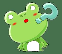 frog Croak sticker #11536947