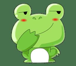 frog Croak sticker #11536951