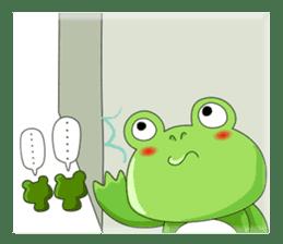 frog Croak sticker #11536955