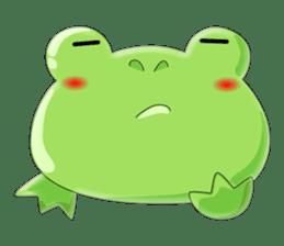 frog Croak sticker #11536957