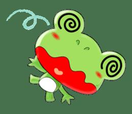 frog Croak sticker #11536959