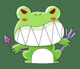 frog Croak sticker #11536960