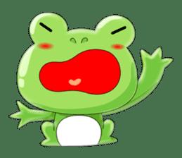 frog Croak sticker #11536961