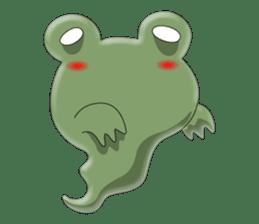 frog Croak sticker #11536964