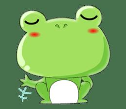 frog Croak sticker #11536966