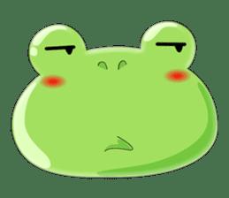 frog Croak sticker #11536967