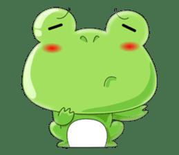 frog Croak sticker #11536970