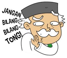 Si Engkong sticker #11537661