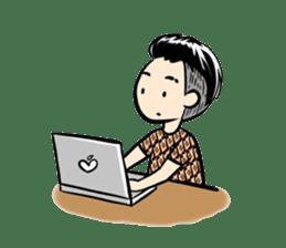 Batik Boy sticker #11540817