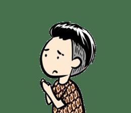 Batik Boy sticker #11540818