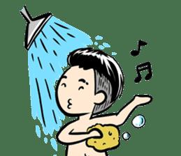 Batik Boy sticker #11540820