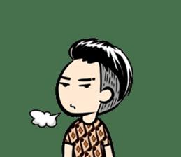 Batik Boy sticker #11540824