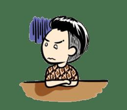 Batik Boy sticker #11540826