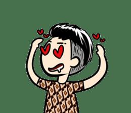 Batik Boy sticker #11540827