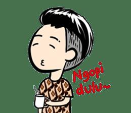 Batik Boy sticker #11540828