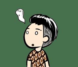 Batik Boy sticker #11540831