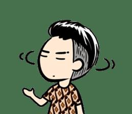 Batik Boy sticker #11540833