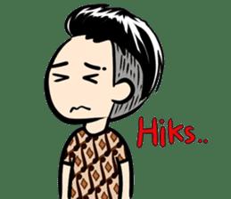 Batik Boy sticker #11540837