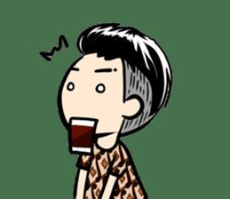 Batik Boy sticker #11540838