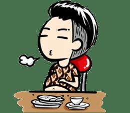 Batik Boy sticker #11540842