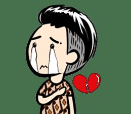 Batik Boy sticker #11540843