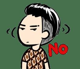 Batik Boy sticker #11540844