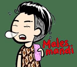 Batik Boy sticker #11540845