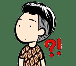 Batik Boy sticker #11540849