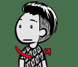 Batik Boy sticker #11540850