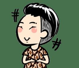 Batik Boy sticker #11540852
