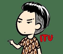 Batik Boy sticker #11540853