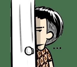 Batik Boy sticker #11540854
