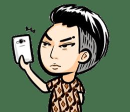 Batik Boy sticker #11540855