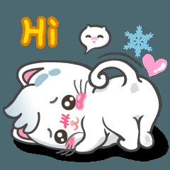 Snowy Cat (EN)