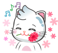 Snowy Cat (EN) sticker #11540932