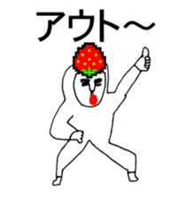 STRAWBERRY CLOTHES 5 sticker #11557903