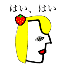 STRAWBERRY CLOTHES 5 sticker #11557924